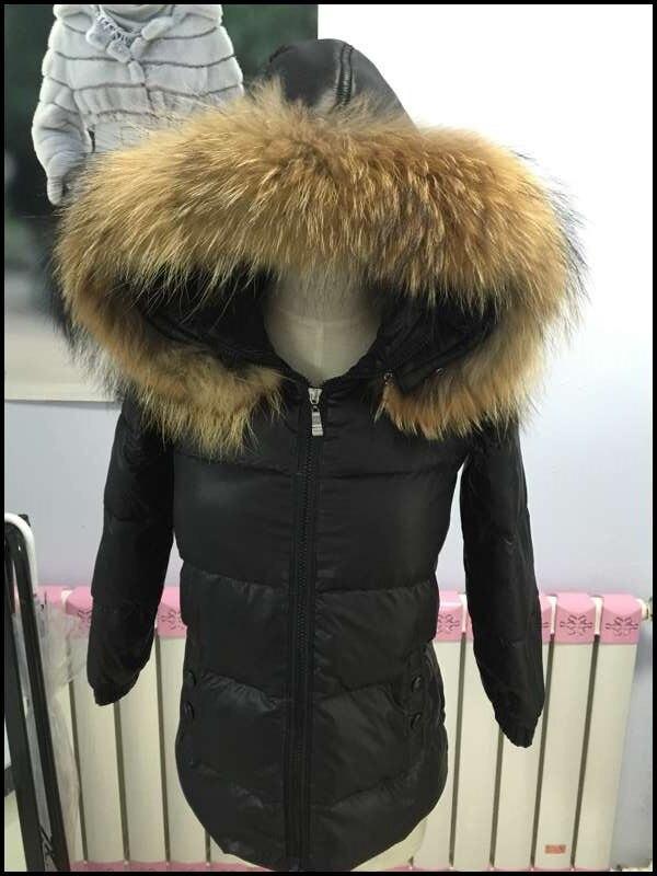 Womens black puffer jacket fur
