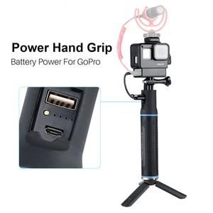 Image 3 - 5200 mah handgrip para osmo bolso gopro aqui 7 6 5 eken sjam power vara acessórios do banco para câmera de ação com caso ulanzi v2