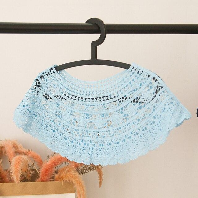 Grass Hollow-Out Lace Collar Dress Applique Blouse Sewing Trims Vest DIY Lace Fabric Garment Skirt Decor Accessories Lace Collar
