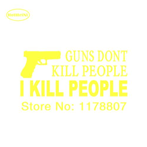 guns dont kill people dads with pretty daughters  sticker vinyl funny car decal
