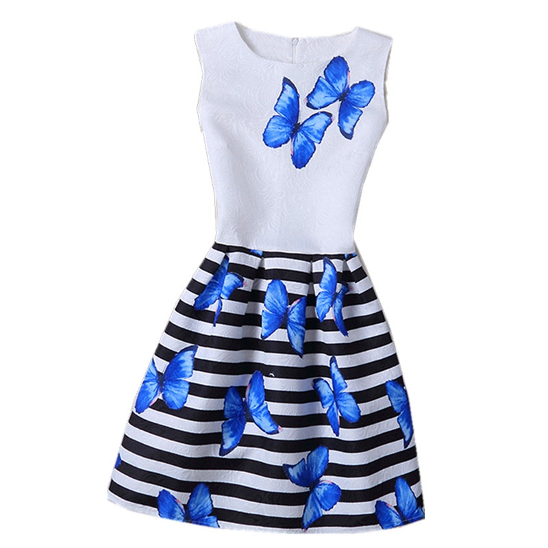 New 2017 Girls Flowers Dresses For Wedding Party,Girls Teen Summer Party Flower Casuals Dress,Children Sleeveless Princess Dress summer 2017 new girl dress baby princess dresses flower girls dresses for party and wedding kids children clothing 4 6 8 10 year