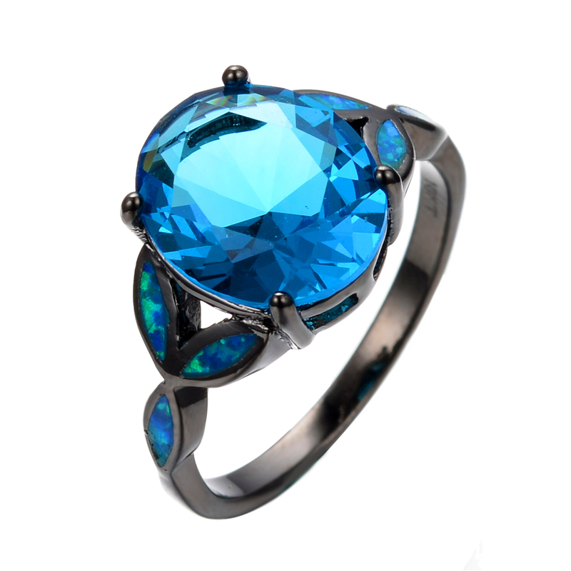 get cheap aquamarine opal ring aliexpress