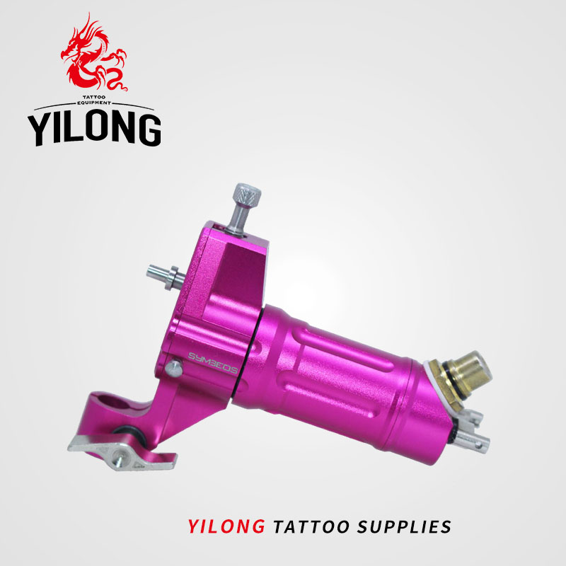 YILONG tattoo artist professional tattoo machine motor imported pink machine europe god of darkness robert recommend gp self lock grips gp3 professional tattoo artist grip