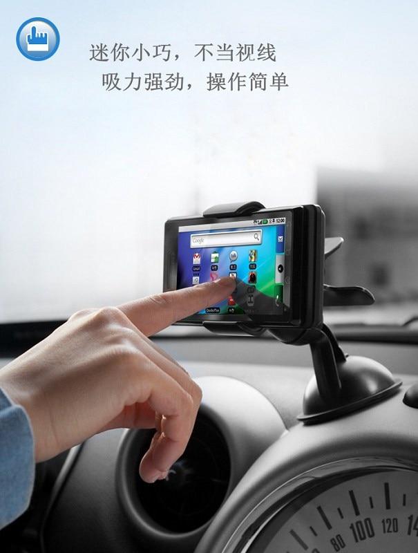 Soporte universal para teléfono de coche para iphone 7 Soporte - Accesorios y repuestos para celulares - foto 3