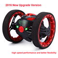 2016 Nova versão de Atualização Do Salto Mini Carro SJ88 Carros RC 4CH 2.4 GHz Pulando de Sumô RC Car W Flexível Rodas Robô de Controle Remoto carro
