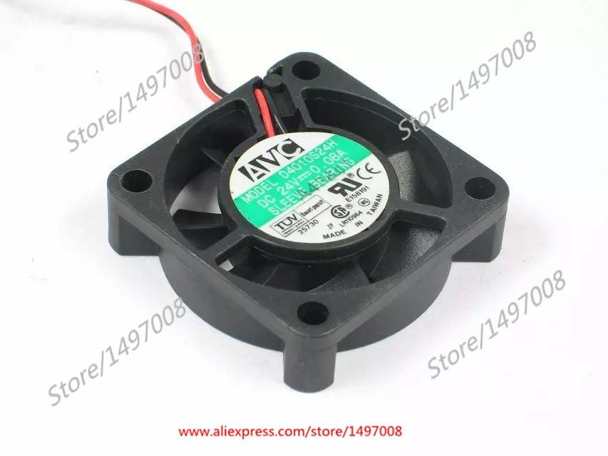 AVC D4010S24H DC 24V 0.08A 40x40x10mm сервера Square Fan
