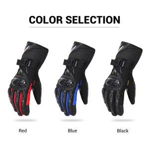 Image 3 - Suomy オートバイ手袋男性 100% 防水防風冬モト手袋バイク guantes タッチスクリーンガントモト乗馬手袋