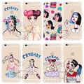 Melanie Martinez Cry Baby Hard Transparent Cover Case For Apple iPhone 5 5S SE 6 6S 7 Plus Clear Cell Phone Cases