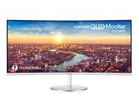 Samsung C34J791WTU, 86,4 см (34 ), 3440x1440 пикселей, ультраширокий Quad HD, 4 мс, серый