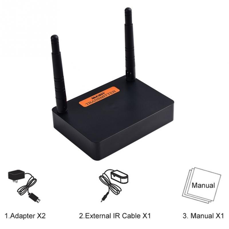 Émetteur HDMI sans fil 2.4G 5G 1080P avec extension de récepteur HD Audio vidéo FHD676 pour TV
