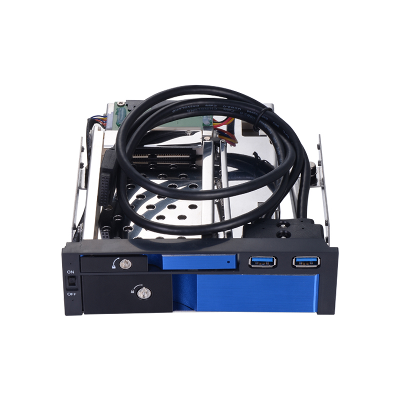 2.5 inch and 3.5 inch SATA III HDD/SSD for 5.25 inch optical space trayless mobile rack with 2 port USB3.0 all aluminum alloy 4 bay 2 5 inch internal sata hdd ssd aluminum mobile rack with hot swap support 7mm 9 5mm 15mm hdd ssd enclosure with lock