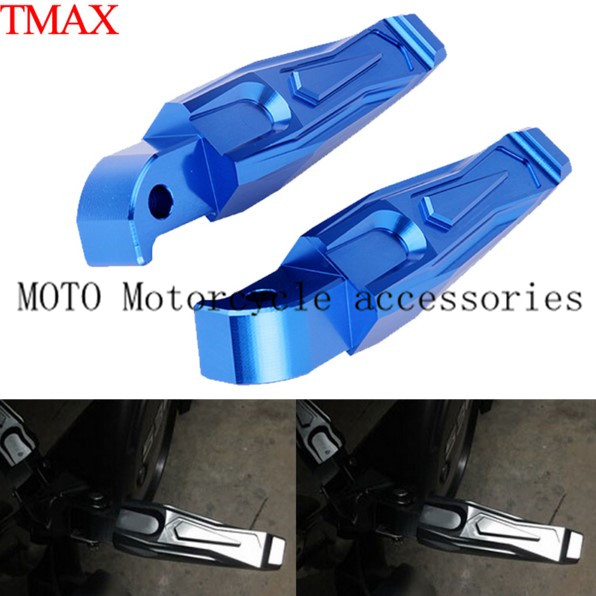 Rear Motorcycle Foot Pegs For Yamaha MT 09 MT09 2014 2015 2016 Motorbike footrest pegs Blue/ Black/ Yellow/ Red