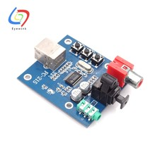 PCM2704 USB DAC S/PDIF Sound Card Decoder Board 3.5 Mm Output Analog F/PC(China)