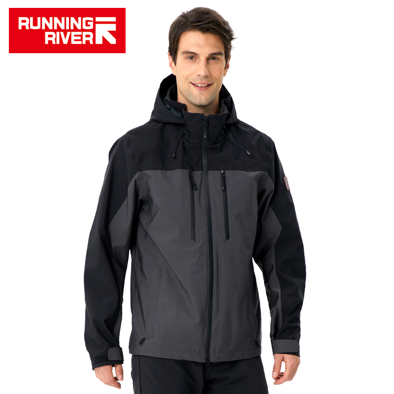 RUNNING RIVER Men Camping Hiking Jacket 4 Colors Size 46 - 56 High Quality Clothes Outdoor windbreaker Windproof coat #K8369RUNNING RIVER Men Camping Hiking Jacket 4 Colors Size 46 - 56 High Quality Clothes Outdoor windbreaker Windproof coat #K8369