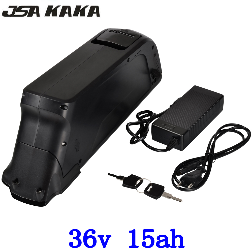 US EU No Tax 36V 15Ah Hailong Battery use for Samsung 18650 Cell Electric Bike Battery 36V 500W Li-ion Battery Pack for 8Fun