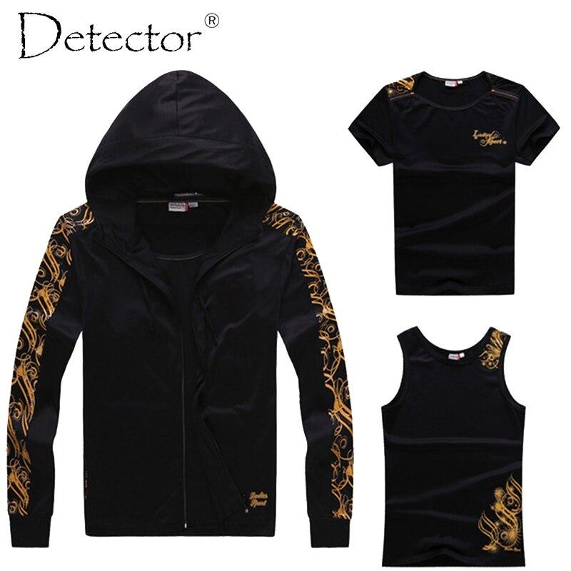 Detector Pro Running Jacket Running T-Shirt Running Vest hoodies luar Wanita Gym Sport Yoga sports Fitness