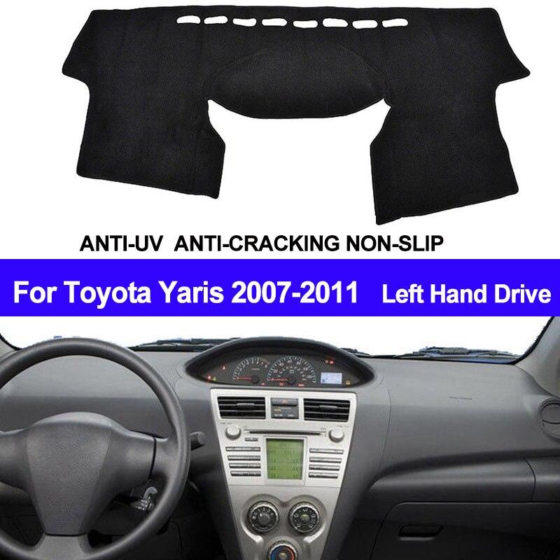 Taijs Car Dashboard Cover Automobile Dash Mat Anti Uv