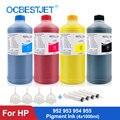 Пигментные чернила 4x1000 мл для HP OfficeJet 7740 8210 8710 8720 8725 8730 8740 чернильные чернила для принтера HP 952xl 954xl 955xl 953xl