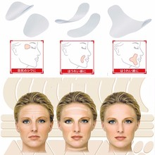 Women Facial Anti Wrinkle Sagging Skin Care Lift Up Pads Tape V-Shape Face Frown Lines Fast Lifting Makeup Wrinkle Remove Tools