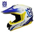 Husqvarna motocross capacete off road capacetes de corrida de rali profissional homens casco do capacete da motocicleta capacete da bicicleta da sujeira moto
