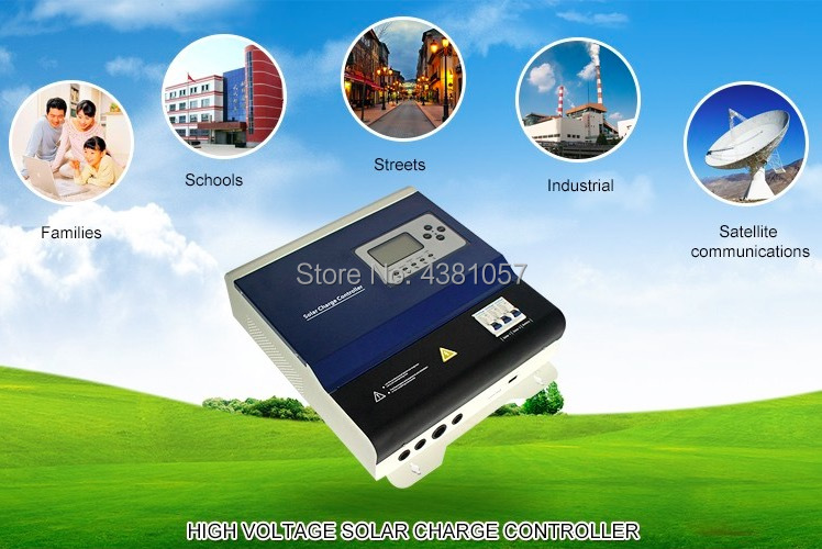 240V100A PWM Solar Charger Controller for Solar Power System Solar Charger