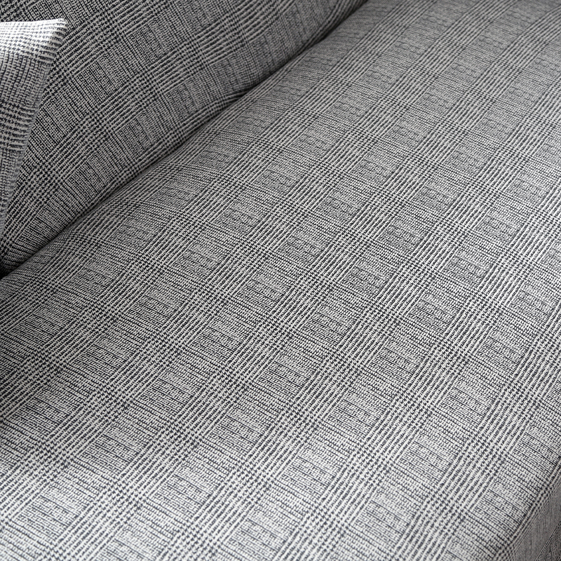 Image 4 - L shape sofa covers spandex for living room gray slipcover stretch sofa chair cover corner sofa couch cover elastic funda sofa-in Sofa Cover from Home & Garden