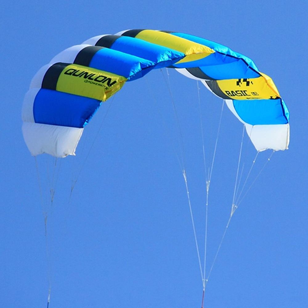 Dual Line Power Kite 0.6sqm გარე Sport Stunt Kite - გარე გართობა და სპორტი - ფოტო 4