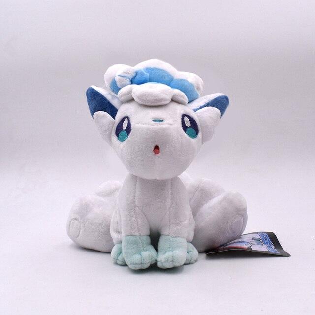 18-20cm Litten Rowlet Popplio Alola Vulpix Mimikyu PP Cotton Plush Toy Anime Animal Doll For Children Gifts