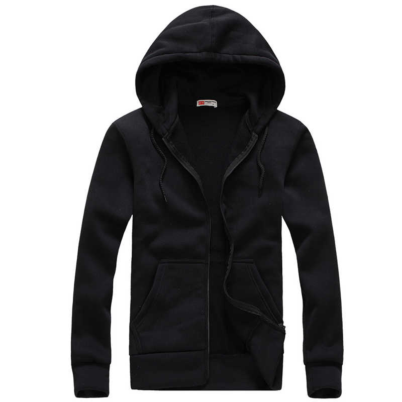 2017 Mannen Hoodies en Sweatshirts Heren Casual Katoenen Hooded vest Hoddie Jas hiphop Sportsuit Trainingspak Sweatshirt
