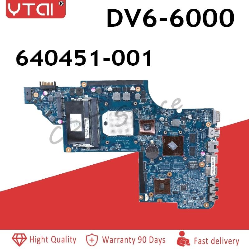 REFIT 650851-001 Laptop Motherboard for DV6 DV6-6000 Laptop Motherboard,100/% Tested 90 Days Warranty