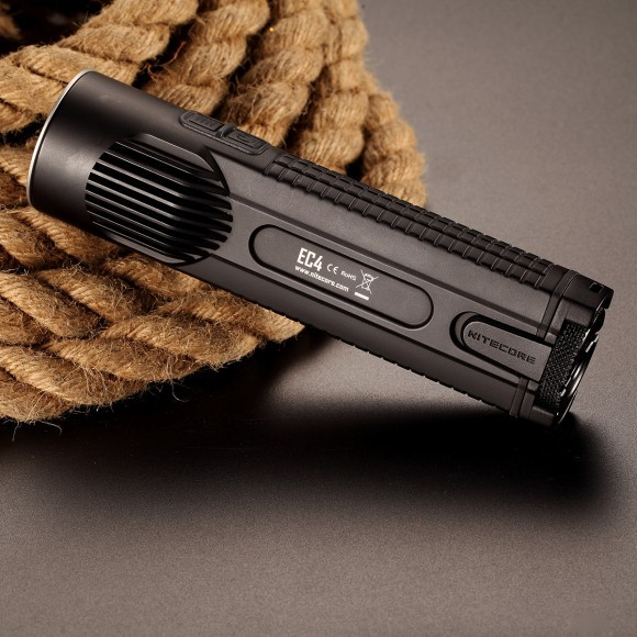 2015 Nitecore EC4 1000 lumens CREE XM-L2 U2 LED flashlight Led Flashlight Waterproof Led Torch nitecore p12 tactical flashlight cree xm l2 u2 led 1000 lumens 4 mode 18650 outdoor camping pocket edc portable torch