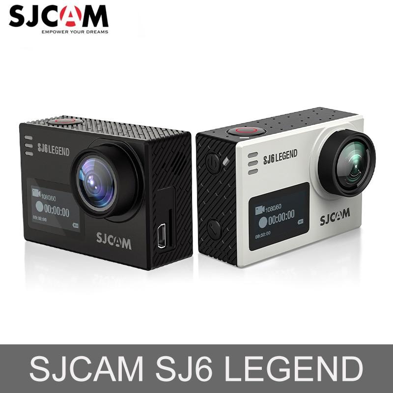 SJCAM SJ6 lejand Novatek96660 Gyro 4K Ultra HD Aksyon Kamera WiFi Remote Kontwòl Aksyon Cam 16MP Ki enpèmeyab Sport Kamera