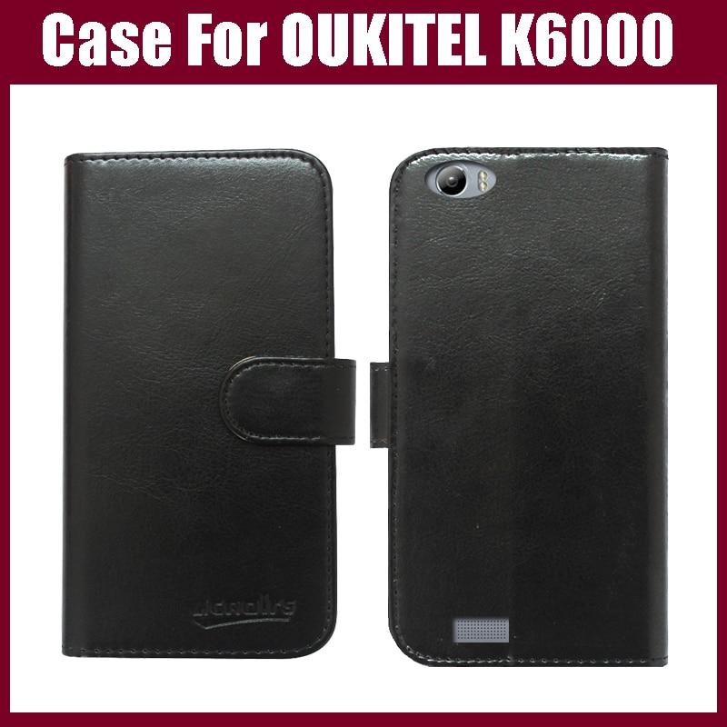 OUKITEL K6000 Case New Arrival High Quality Flip Կաշի - Բջջային հեռախոսի պարագաներ և պահեստամասեր - Լուսանկար 1