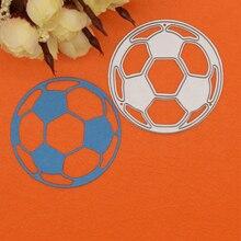 Football Metal Crafts Cutting Dies Stencils Sports Game Embossing Craft DIY Paper Cards DIY Scrapbooking Decor scrapbooking diy 50
