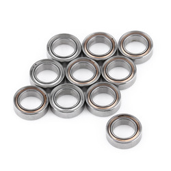 10Pcs/set MR85ZZ Ball Bearing 5*8*2.5mm Double-shielded Miniature Bearing Steel Ball Bearings for 3D Printer Quadcopter