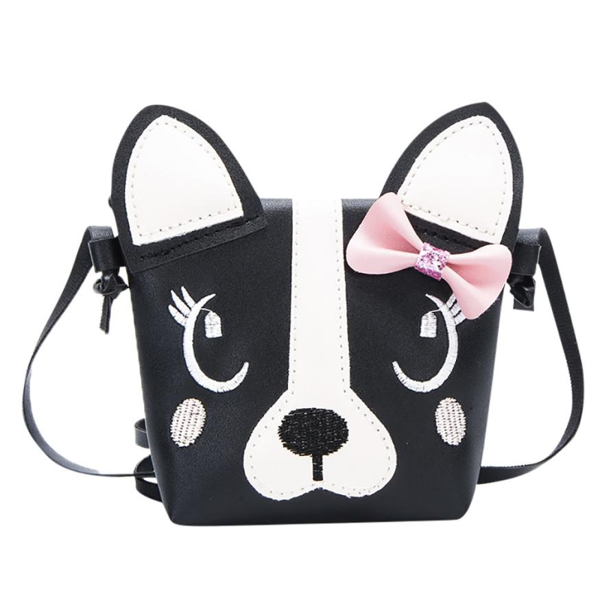 Womens Leather Handbags Grils Purse Ladys Cute Animal Small Bow Messenger Bags Mini Shoulder bolsa feminina 2018 New Gifts