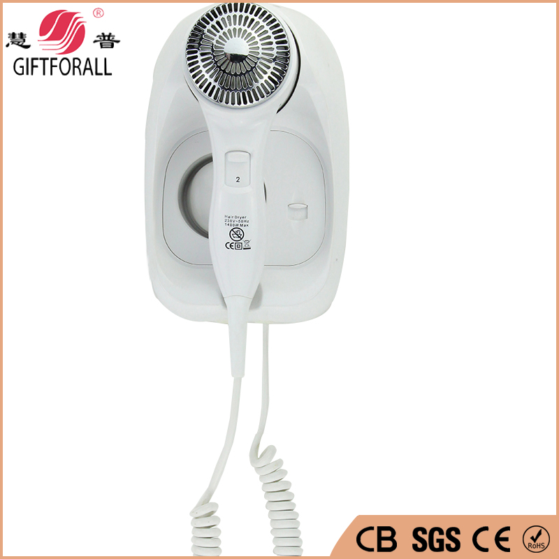 GIFTFORALL Hotel Electric Hair Dryer Bathroom Retail Wall Mounted Hair Drier  Electronic Hair Salon Equipment RCY-67888A