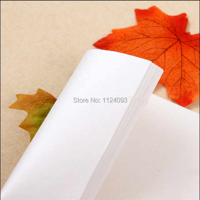 Raw Xuan Paper Blank White Paper For Practice Chinese Japanese
