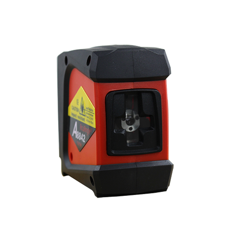 ACUANGLE A8842 Laser Level 360 Self-leveling Rotary Instrument Cross 2 Lines 1 Point Laser nivelamento Portable Diagnostic-Tool green acuangle a8832g laser level 635nm 2 cross lines 360 rotary laser levels indoor outdoor portable automatic high brightness