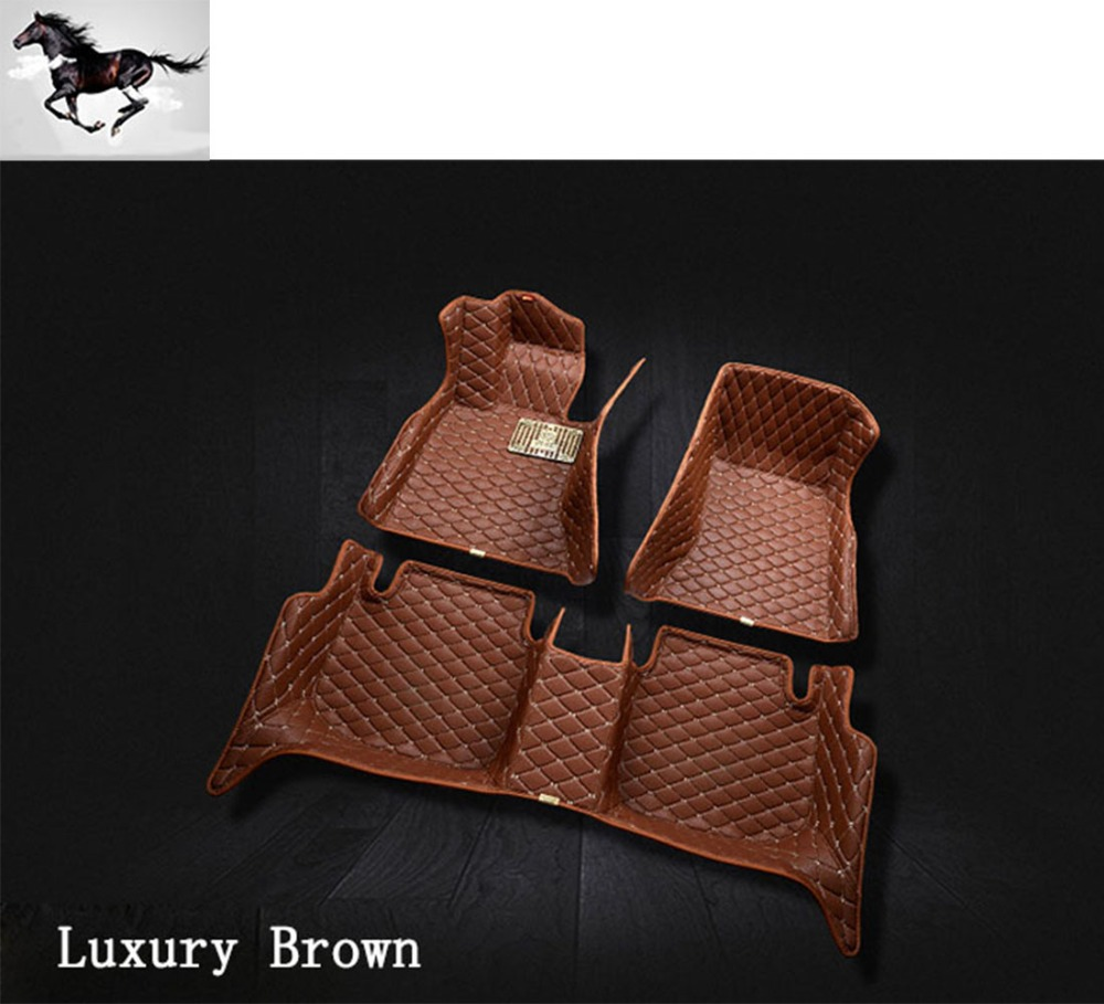 Bmw floor mats x1 - Topmat Full Set Car Floor Mats For Bmw X1 Durable Waterproof Leather 3d Floor Mat Carpet