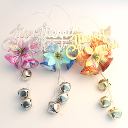 24(inch)Fit Festival  Christmas Decoration Pendants Christmas Day Large bell New year Party
