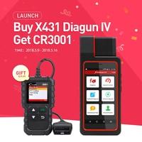 LAUNCH X431 Diagun IV Full ECU Diagnostic Tool Support Bluetooth Wifi X 431 Diagun IV Scanner
