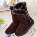 2015 boots women Snow Boot shoe australia calf knee high boots motorcycle women snowshoes snow boots free shipping saj824