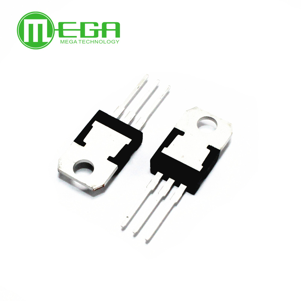 <font><b>100</b></font> PCS L7805CV L7806 L7808 L7812 TO-220 L7805 LM7805 7805 Positive-Voltage Regulators image