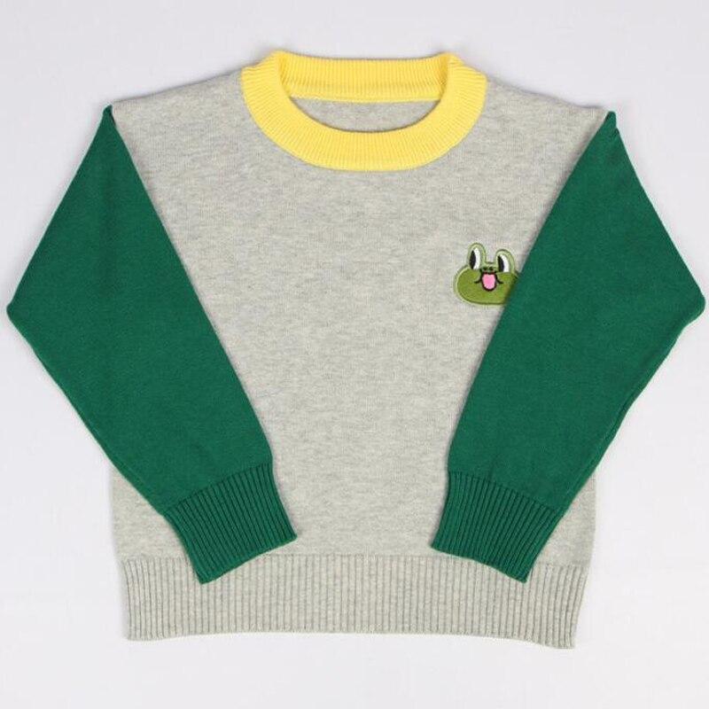 Suéteres de Punto Jersey Camisa de Algodón de Los Muchachos 2017 Nuevos Niños Ni