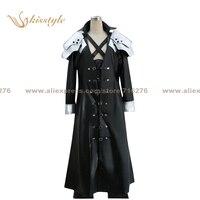 Kisstyle Moda Final Fantasy VII Sephiroth Jednolite COS Cosplay Costume Odzież, Niestandardowy Akceptowane