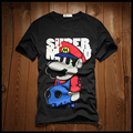 XXL-8XL Plus Size Super Mario Brand t shirt men Gasp Cotton Fitness Casual Fashion t shirt (XXL XXXL 4XL 5XL 6XL 7XL 8XL)