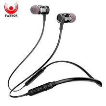 SWZYOR LY-16 Neckband fone de Ouvido Bluetooth Sem Fio Fone De Ouvido Para iPhone Xiaomi Fones de Ouvido auriculares fone de ouvido estéreo Com Microfone