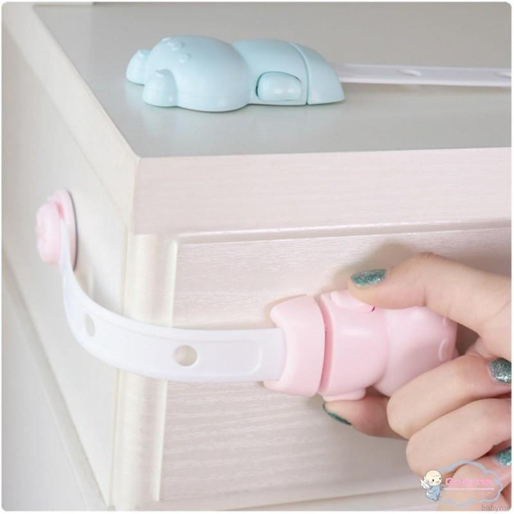 Kidlove Multi-functional Kids Safety Lock Cupboard Fridge Cabinet Prevent Clamp
