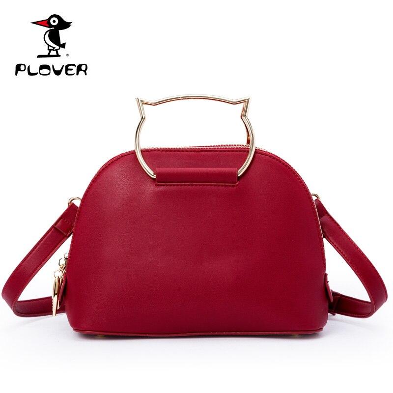 ФОТО Plover Women Handbag Famous Brands Shoulder Bags Women High Quality Leather Channels Handbags Tote Bag Designer Ladies Hand Bags